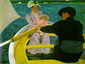 Mary Cassatt La promenade en barque