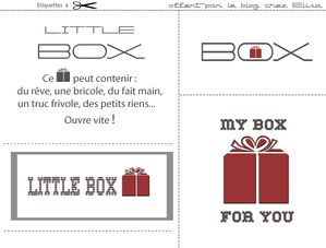 little box chez Elisa