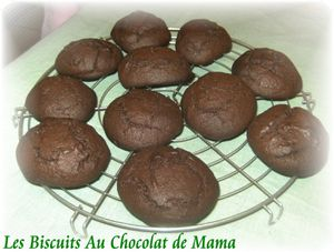 Biscuits choco 1