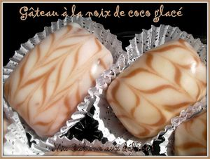 Gateau noix de coco glacé photo 4