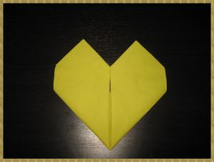 Tutoriel Pliage Serviette En Forme De Coeur K Art