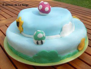 gâteau mario bros1