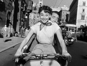 roman holiday vespa 1