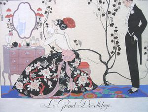 george-barbier Le Grand Decolletage