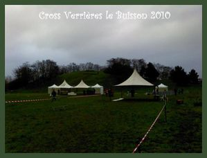 Cross de verri res le buisson 2010 le plaisir de courir for Terrain verrieres le buisson
