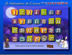 1er jour du calendrier de l 39 avent histoire de la chansons fran aise. Black Bedroom Furniture Sets. Home Design Ideas