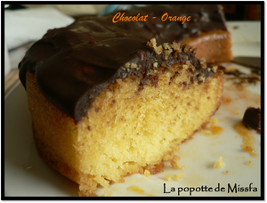 Gateau orange choco 2