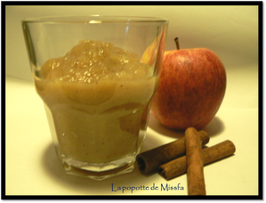 compote pomme canelle