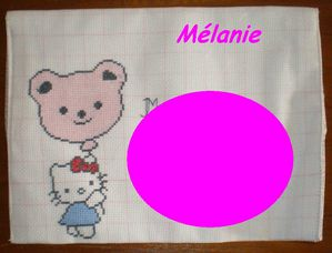 Hello Kitty par Mélanie