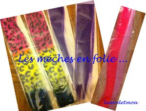 meches de couleurs en folie lamodetmoa