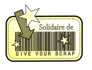 Give Your Scrap - solidaire