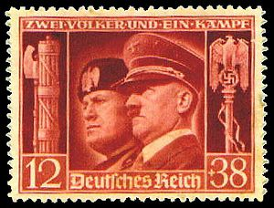 Fasces Mussolini-Hitler