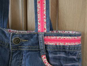 Sac short jean detail 1