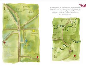 Twilight Saga Illustrated Guide - Forks Plan Drawing