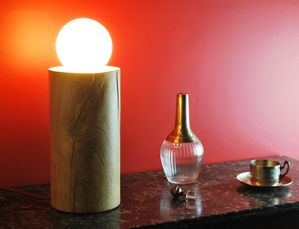 lune en bois open design