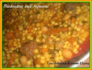 Berkoukes aux légumes (2)