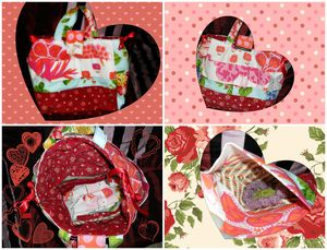 SAC A JOUETS Collage