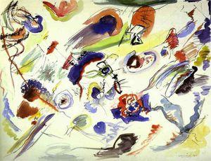 Aquarelle abstraite Kandinsky