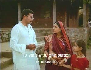 One person is enough