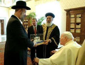 jp II et rabins