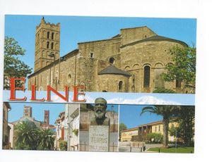 carte postale de Lydie - Elne