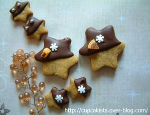 Gingerbread Chocolate Orange Stars