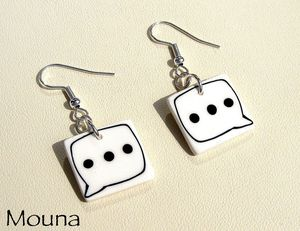 Boucles b.d. 1 DISPONIBLE: 12 euros.
