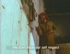 Self-respect not traded