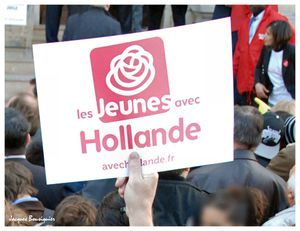 Francois Hollande Creil 6 avril 2012 - 3