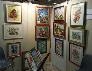 Salon des artistes amateurs Ligny 2014 (5)