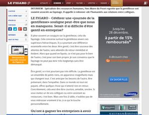 Article Le Figaro 13 nov 2013