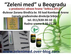 Zeleni med Beograd