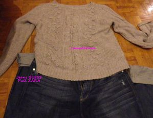jeans guess pull zara