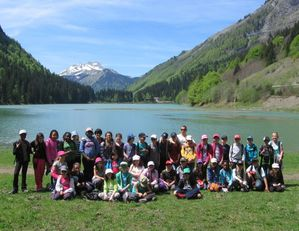 groupe lac Montriond