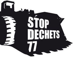 stop dechet stiker