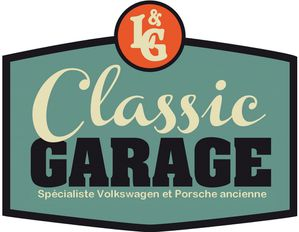 L g classic garage for Logo garage mecanique