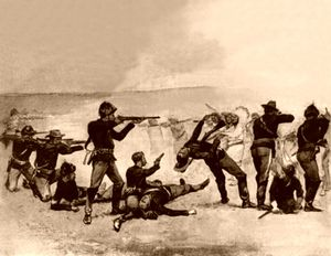 WOUNDED KNEE tir