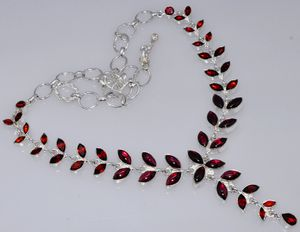MOZAMBIQUE Garnet Necklace