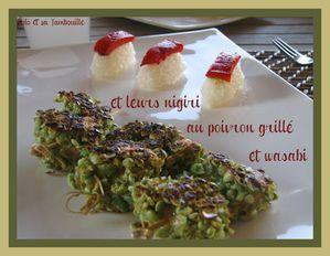 Brochettes de poulet panées aux pois wasabi (4)-copie-1