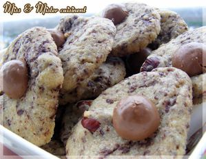 Cookies maltesers Miss tablier