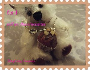 collier choco noisettes