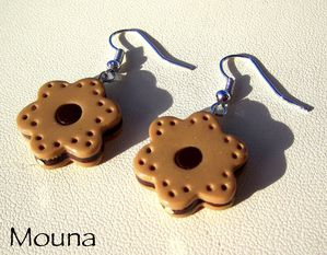 Boucles Biscuits choco 1 DISPONIBLE: 10 euros.
