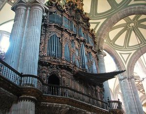 Mexico Cathédrale orgues 2 (2)