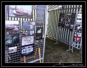 Stand lors du Festival de la Paix 2012 Olivier Pain reporter photographe basé sur Tours