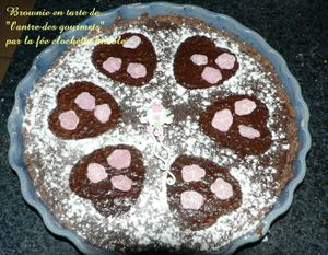 Tarte en Brownies