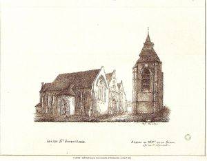 eglise Saint Jacques 1868