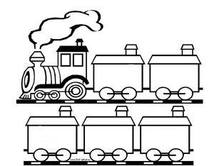 Manuel de la garderie le on 3 je peux prier notre p re - Comment dessiner un train ...