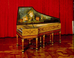Clavecin Donzelague Photo DR Musée des arts decoratifs lys