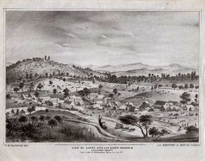 VUE of campo seco 1853
