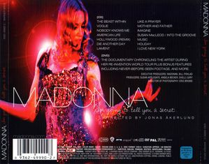 Madonna-I m Going To Tell You A Secret-Trasera